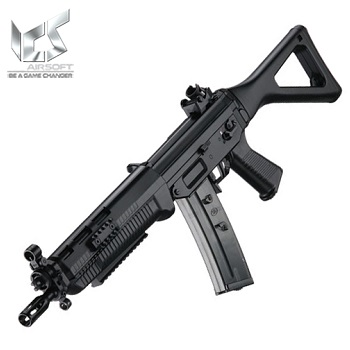ICS x SIG SG-551 SWAT AEG (Polymer-Version) - Black