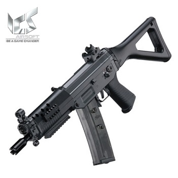 ICS x SIG SG-552 Commando AEG (Polymer-Version) - Black