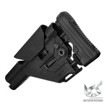 "ICS Sniper Stock ""UKSR"" - Black"