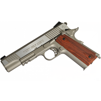 KWC x Colt 1911 Rail Gun ® Co² BlowBack - Stainless