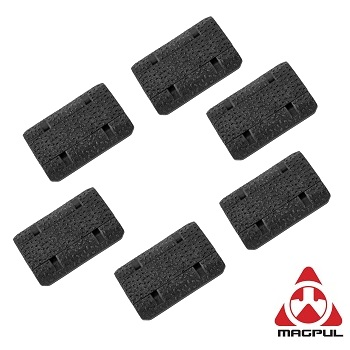"Magpul ® M-LOK Rail Cover ""Type 2"" (6er Pack) - Black"