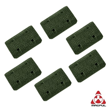 "Magpul ® M-LOK Rail Cover ""Type 2"" (6er Pack) - Olive"