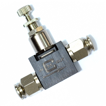 Mancraft Co² / HPA Inline Micro Regulator - 4mm zu 4mm