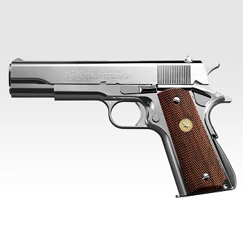 Marui Colt Government 1911 Series\'70 GBB - Nickel Finish