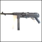 AGM MP40 Electric Airsoft SMG - Black