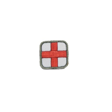 "MSM ® Medic Square 1"" Patch - Full Color"