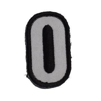 MSM ® Tac-Number 0 Patch - SWAT