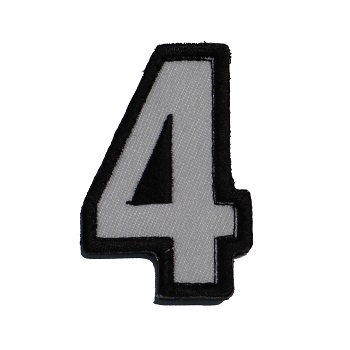 MSM ® Tac-Number 4 Patch - SWAT