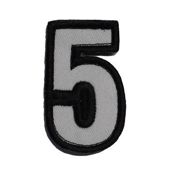 MSM ® Tac-Number 5 Patch - SWAT