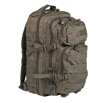 Mil-Tec US Assault Pack Rucksack (30L) - Oliv