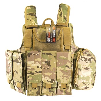 Nuprol PMC Tactical Molle Vest RTG - MultiCam