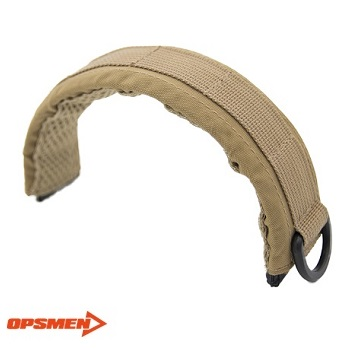 OPSMEN ® EARMOR Advanced Modular Headset Cover - Coyote Brown