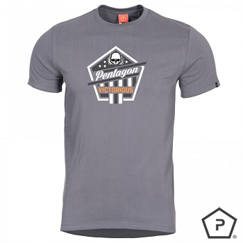 "Pentagon ® T-Shirt ""Victorious"", Wolf Grey - Gr. S"