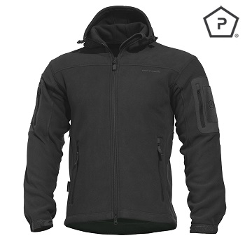 "Pentagon ® Tactical Fleece Jacke ""Hercules"", Black - Gr. L"