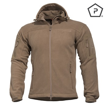 "Pentagon ® Tactical Fleece Jacke ""Hercules"", Coyote - Gr. S"