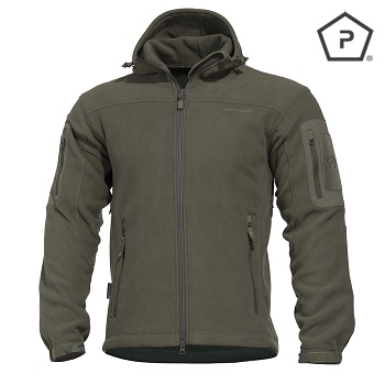 "Pentagon ® Tactical Fleece Jacke ""Hercules"", Olive - Gr. S"