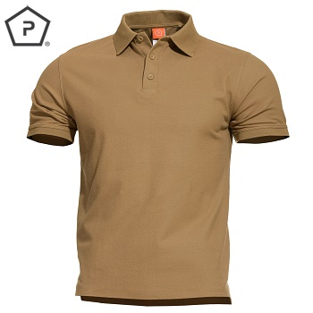 Pentagon ® Aniketos Tactical Polo Shirt, Coyote Brown - Gr. S