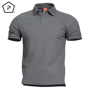Pentagon ® Aniketos Tactical Polo Shirt, Wolf Grey - Gr. M