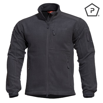"Pentagon ® Tactical Fleece Jacke ""Perseus"", Black - Gr. S"