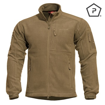 "Pentagon ® Tactical Fleece Jacke ""Perseus"", Coyote - Gr. S"