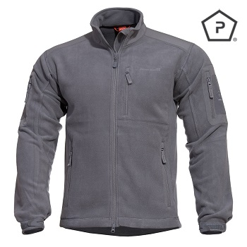 "Pentagon ® Tactical Fleece Jacke ""Perseus"", Grey - Gr. S"