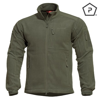 "Pentagon ® Tactical Fleece Jacke ""Perseus"", Olive - Gr. S"