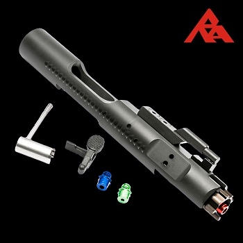 RA-Tech CNC Complete Bolt Carrier (Magnetic Locking NPAS) für WE M4/M16/HK416 Serie - Black