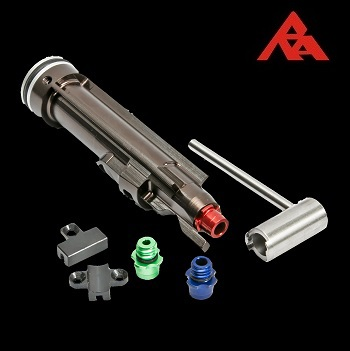 RA-Tech CNC Aluminium Nozzle Set (Magnetic Locking NPAS) - WE SCAR Serie