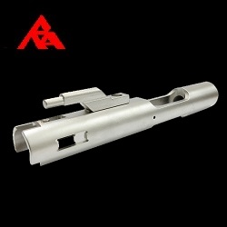 "RA-Tech CNC Steel Bolt Carrier ""Stainless Edition"" - WE M4/M16/HK416 Serie"
