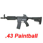 APS RAM 32R M4 CQB-R Cal .43 Real Action Paintball Marker