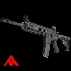 RA-Tech Custom WE SG416 Black GBBR (NPAS) - LVL 1