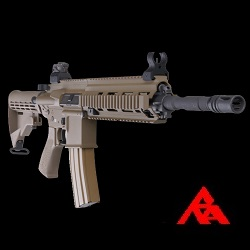 RA-Tech Custom WE SG416 FDE GBBR (NPAS) - LVL 1