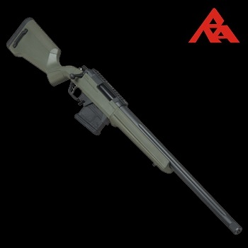 RA-Tech Custom Amoeba Striker S1 Spring Sniper Rifle - Olive