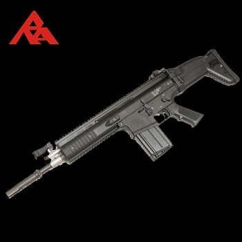 RA-Tech Custom WE SCAR-H MK.17 Mod 0 CQC Black (NPAS) - LVL 1