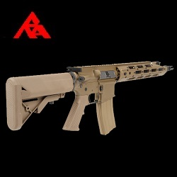 "RA-Tech Custom WE M4 R.A.R.S ""Raptor"" FDE GBBR - LVL1"