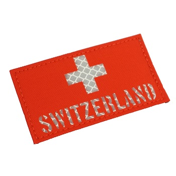 "RayWorx ® ""Flag Frontpatch - Switzerland"" Reflex Patch - Color"