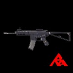 RA-Tech Custom WE Knight's PDW Black GBBR (NPAS) - LVL 1