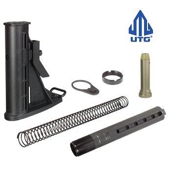 Leapers ® UTG AR-15 / M4 (ComSpec) 6 Position Stock Set - Black