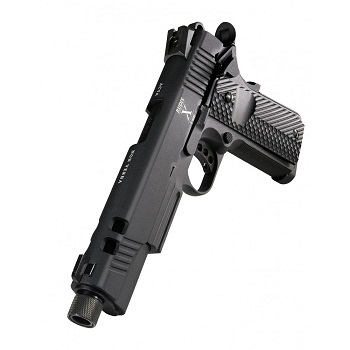 "KJ Works x Secutor 1911 ""Rudis X"" Co² GBB - Black"