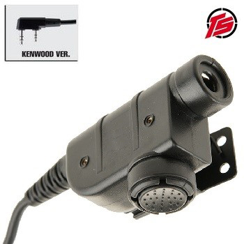"Tac-Sky Tactical PTT Adapter ""SLX"" - Kenwood Type"