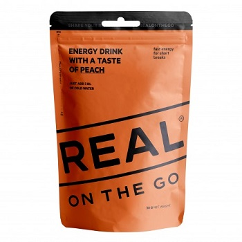 REAL ® On the Go Engery Drink - Pfirsich