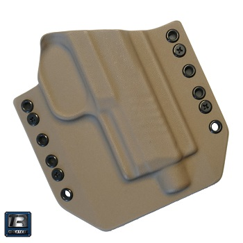 TR Holsters ® OWB Kydex Holster FN 509 / 509 Tactical, rechts - FDE