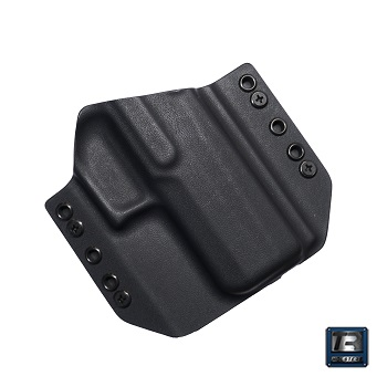 TR Holsters ® OWB Kydex Holster SIG P320 Compact, rechts - Black