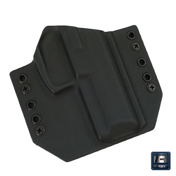 TR Holsters ® OWB Kydex Holster H&K SFP9 / VP9, rechts - Black