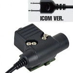 "Tac-Sky Tactical PTT Adapter ""U94"" - ICOM Type"