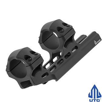 Leapers ® UTG Accu-Sync 34mm OffSet Scope Mount (Ø 25mm) - Black
