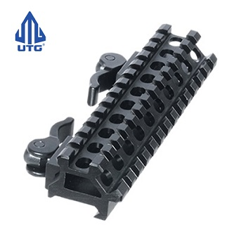 Leapers ® UTG 13-Slot QD Double Rail Angle Mount