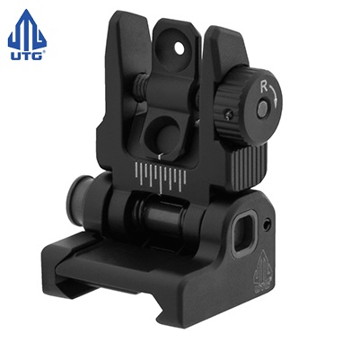 "Leapers ® UTG Low Profile FlipUp Rear Sight ""ACCU-SYNC"" - Black"