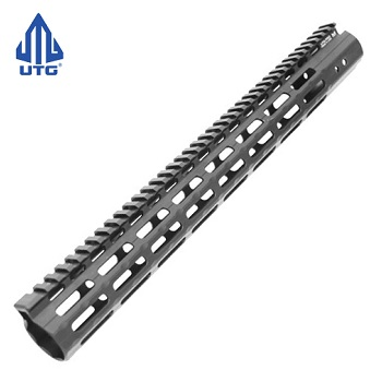 "Leapers ® UTG Super Slim Free Float Rail ""M-LOK"" 15 inch - Black"