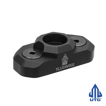 "Leapers ® UTG PRO Low Profile QD Port ""KeyMod"" - Black"